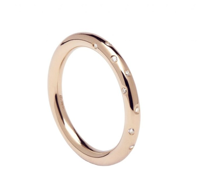 Anillo PD PAOLA AN03-107 SATELLITE ROSE GOLD