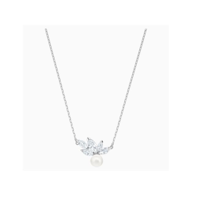 Collar Swarovski LOUISON PEARL PLATA 5422685