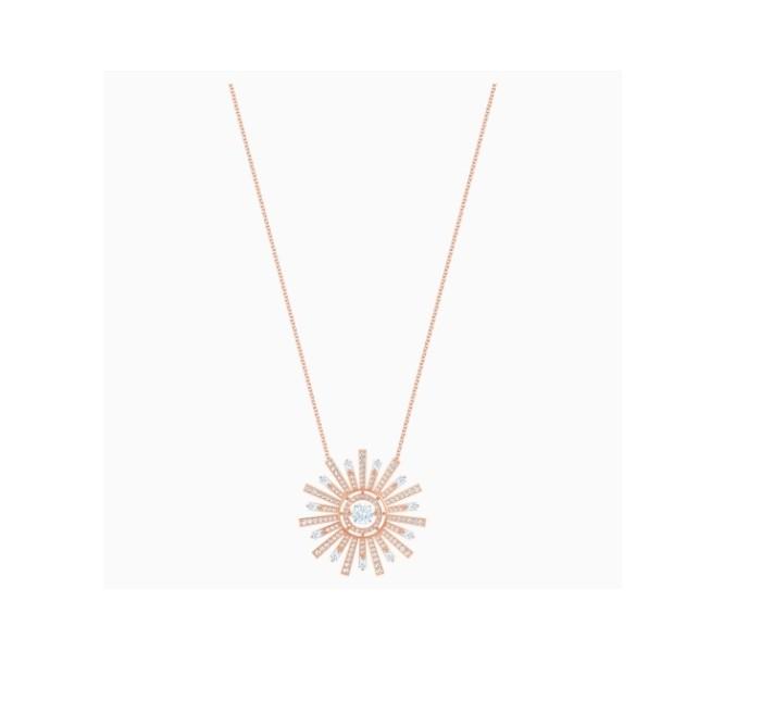 Collar Swarovski SUNSHINE ORO ROSA 5459593