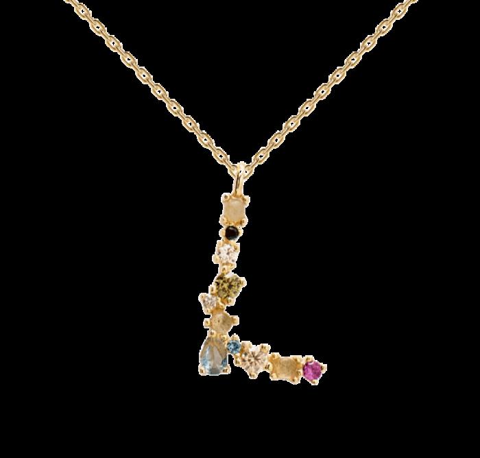 Collar PD PAOLA CO01-107-U LETRA L GOLD